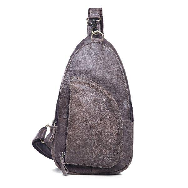 Túi đeo chéo lưng cho nam da thật giá rẻ Hà Nội TDL02
