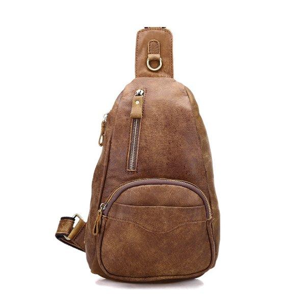 Túi đeo chéo lưng da bò thật độc đáo tuyệt đẹp TDL06