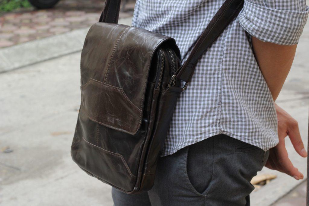 Thời trang sang trọng cùng túi xách da thật mới nhất KT42