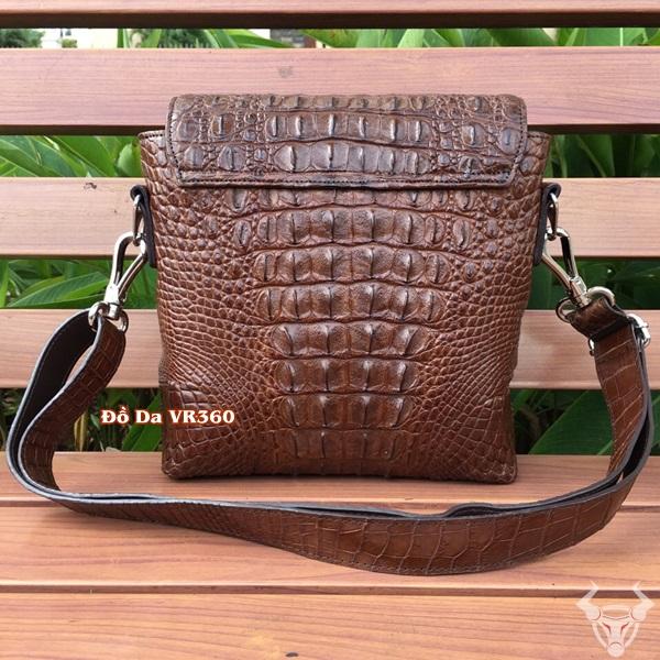 Túi Chéo Nam Da Cá Sấu Thật Giá Rẻ CST10