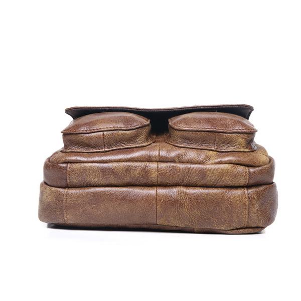 Túi ngang đựng iPad da bò miếng giá rẻ KT48 đáy túi