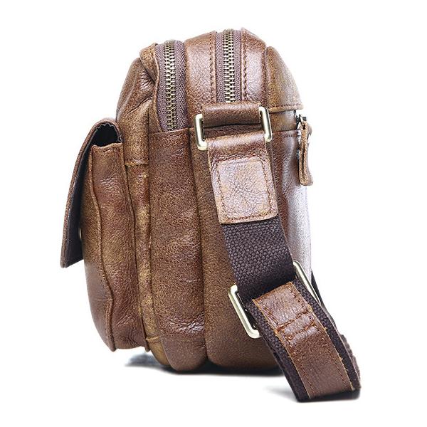 Túi ngang đựng iPad da bò miếng giá rẻ KT48 thân túi