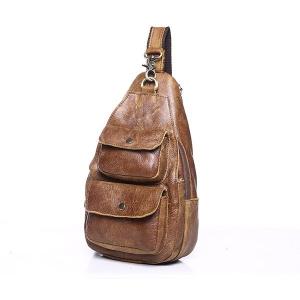 Túi đeo chéo ngực nam da thật giá rẻ TDL-15