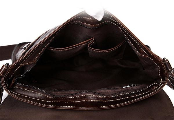 Túi xách da đeo chéo 011