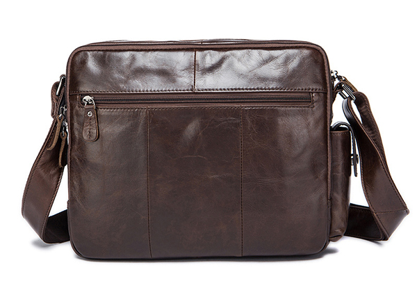 Túi xách nam da bò đựng iPad, tài liệu A4 KT53 mặt sau