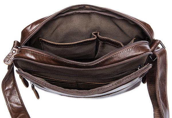 Túi xách nam da bò đựng iPad, tài liệu A4 KT53 ngăn đựng bên trong
