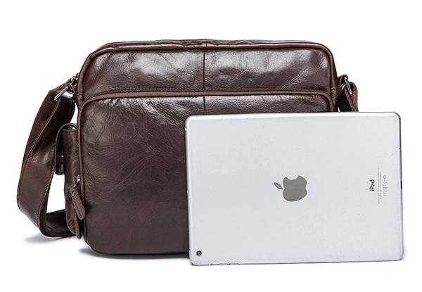 Túi xách nam da bò đựng iPad, tài liệu A4 KT53 kích thước iPad