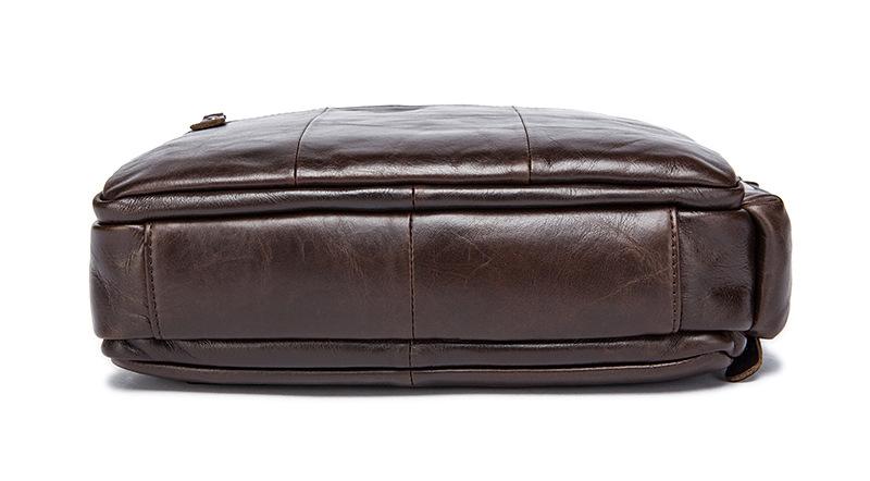 Túi xách nam da bò đựng iPad, tài liệu A4 KT53 đáy túi