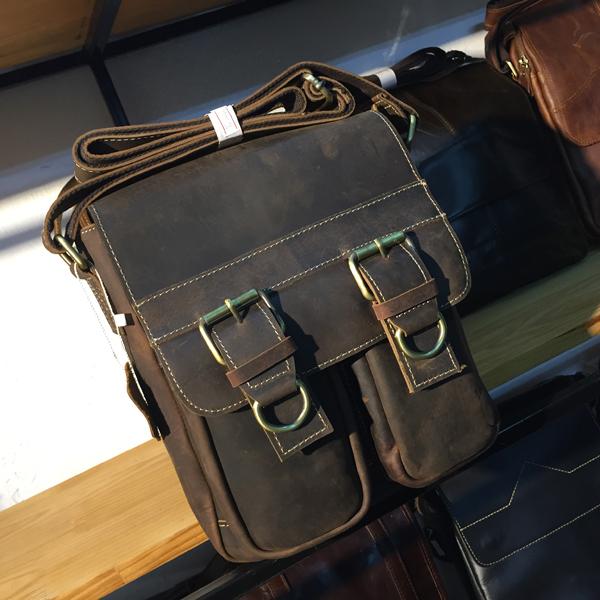 Túi đeo chéo nam công sở da bò thời trang nam tính